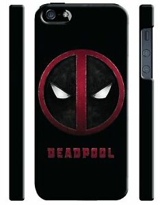 Iphone-4s-5-5s-5c-6-6S-7-8-X-XS-Max-XR-Plus-Hard-Cover-Case-Deadpool-Logo-12