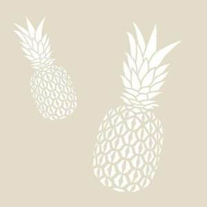 Pineapple Wall Art Stencil - SMALL - Trendy DIY Wall Designs for Less! | eBay