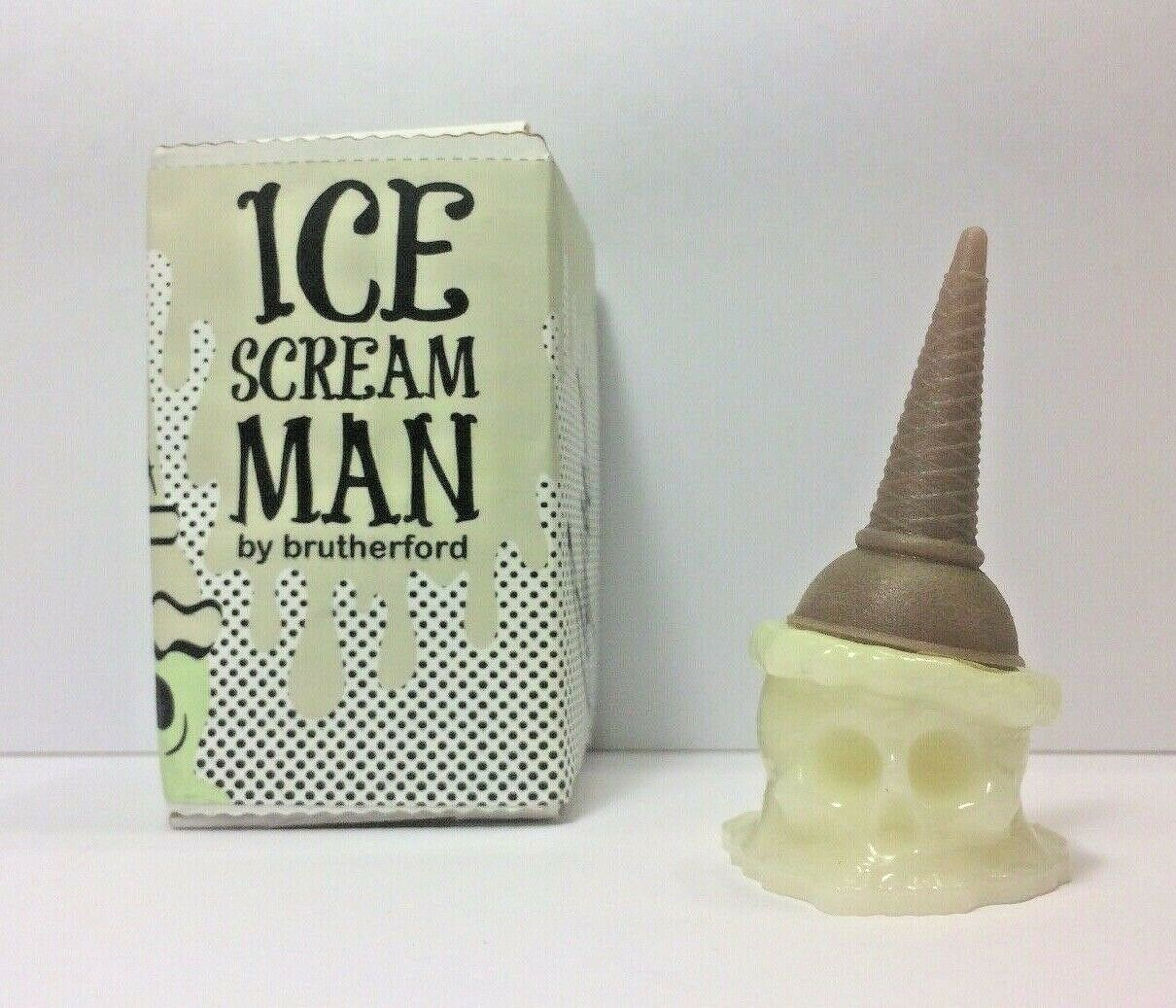 Brutherford Ice Scream Man Resin Glow in the Dark Collectible Mini Sculpture 3