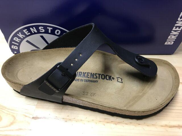 Birkenstock Zehensteg Zehentrenner Modell GIZEH BS black schwarz 0043691 NEU