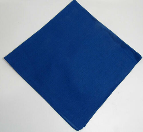 DV 100/% Cotton Large Plain Bandana Head Scarf Chefs Neck Tie Wrist Wrap DV204