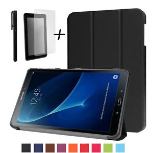 online store f4cc6 fc13c Details about Slim Smart Cover Case Stand for Huawei MediaPad M5 Lite 10  Tablet PC + Extras