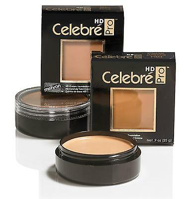 Celebre HD Pro beauty performance  foundation quality makeup Mehron face fashion