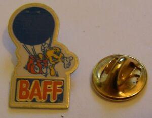 HOT-AIR-BALLOON-BAFF-vintage-Pin-Badge