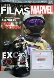 MARVEL MOVIE COLLECTION #56 Exo-Soldier Figurine (Avengers: Age of Ultron) EAGLE