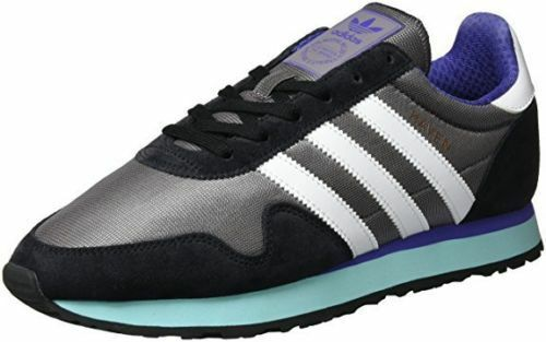 Adidas ORIGINALS Haven hommes Trainers in  Gris /blanc/Clear Aqua /