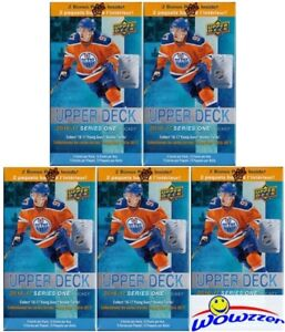 5-16-17-UD-Series-1-Hockey-EXCLUSIVE-Sealed-12-Pack-Blaster-Box-10-Young-Gun-RC