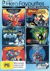 DC Comics Hero Favourites 6 Movies Inc Justice League Batman Superman DVD