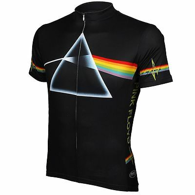 PRIMAL WEAR PINK FLOYD DARK SIDE OF MOON MENS BICYCLE CYCLING JERSEY M MEDIUM