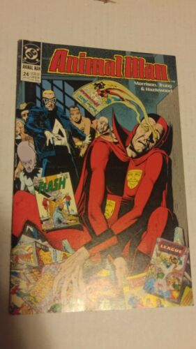 Animal Man #6 December 1988 DC Comics Morrison Troug Hazelwood