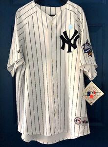 New-NY-New-York-Yankees-XL-Jersey-MAJESTIC-Genuine-1999-WORLD-SERIES-NWT