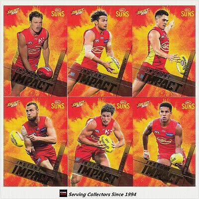 2019 AFL SELECT FOOTY STARS INSTANT IMPACT SET OF 6 ST KILDA