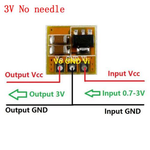1Pcs 0.7-5V to 3V 3.3V 5V DC to DC Boost Converter voltage Step-up ModulYRDE