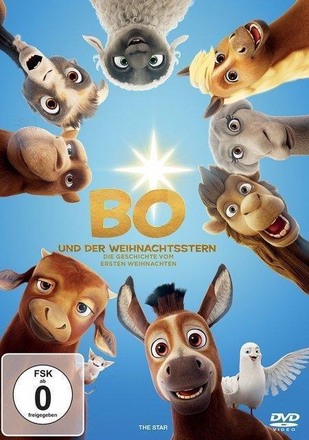 Bo und der Weihnachtsstern - DVD Deutsch 2018 - NEU OVP