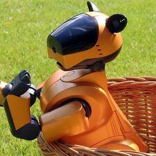SONY AIBO | ERS-210 ORANGE SPRING EDT - ROBOTER HUND KOMPLETT-SET