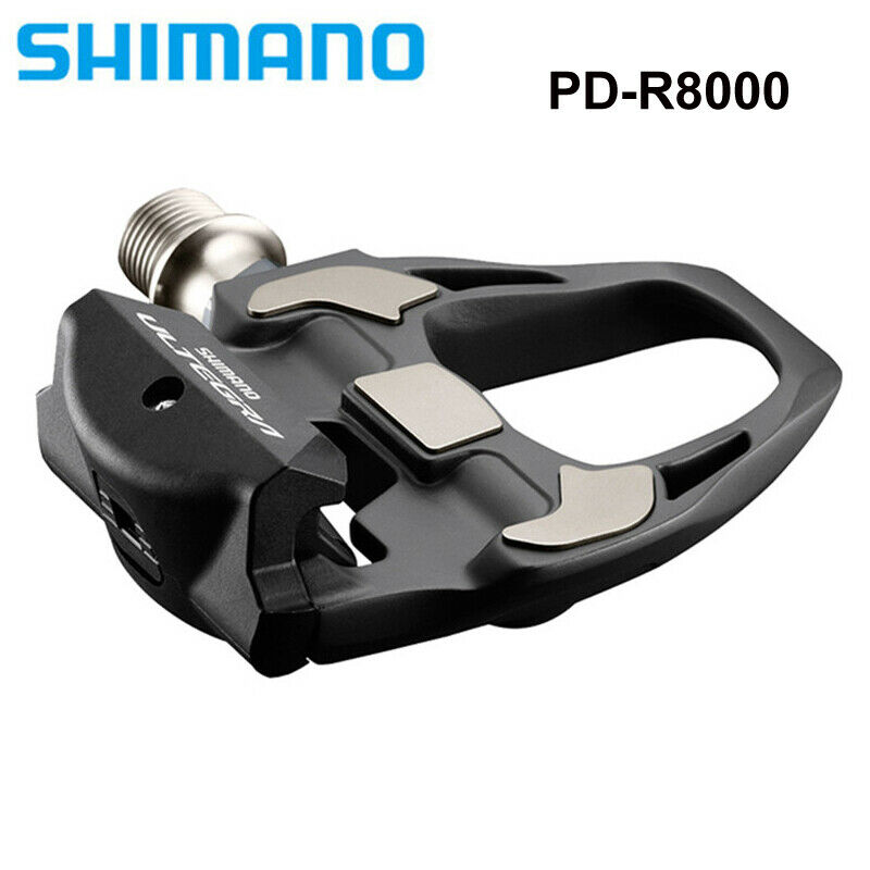 Shimano Ultegra PD-R8000 4mm Road Triathlon Bike Carbon Pedals /& SM-SH11 Cleats