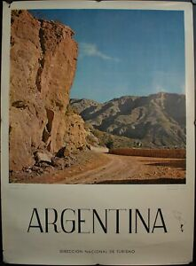 Argentina Travel Poster South America