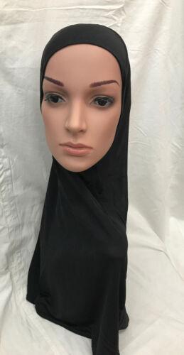 Muslim Girls Children Adult Ladies Islamic Hijab School Stretch Lycra One Piece