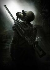 POSTER METRO 2033 REDUX 2034 LAST NIGHT ARTYOM MOSCA HORROR VIDEOGAME PC PS4 #15