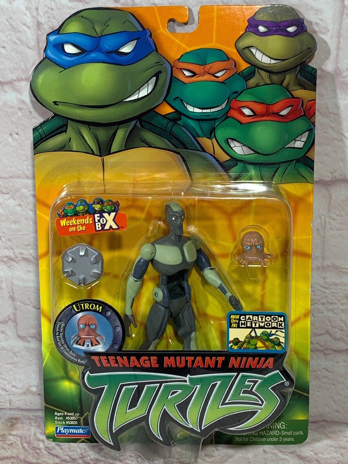 Utrom rare MOC TMNT Teenage Mutant Ninja Turtles 2004