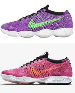 cd393149e41e NEW NIKE FLYKNIT ZOOM AGILITY WOMEN S RUNNING TRAINING SHOES PINK ...
