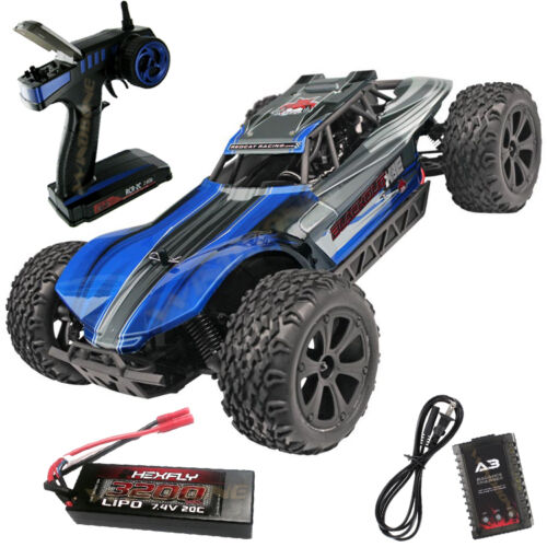 Redcat Racing Blackout XBE Pro Blue 1//10 RTR 4x4 Buggy Brushless 2.4GHz LIPO Bat