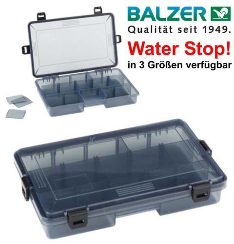 BALZER Tackle Mate Box mit Water Stop Modell wählbar wasserdicht Köder Zubehör