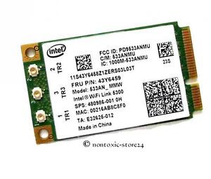 Intel-5300-IBM-mini-pci-EXPRESS-Wlan-Karte-WIFI-CARD-533AN-MMW