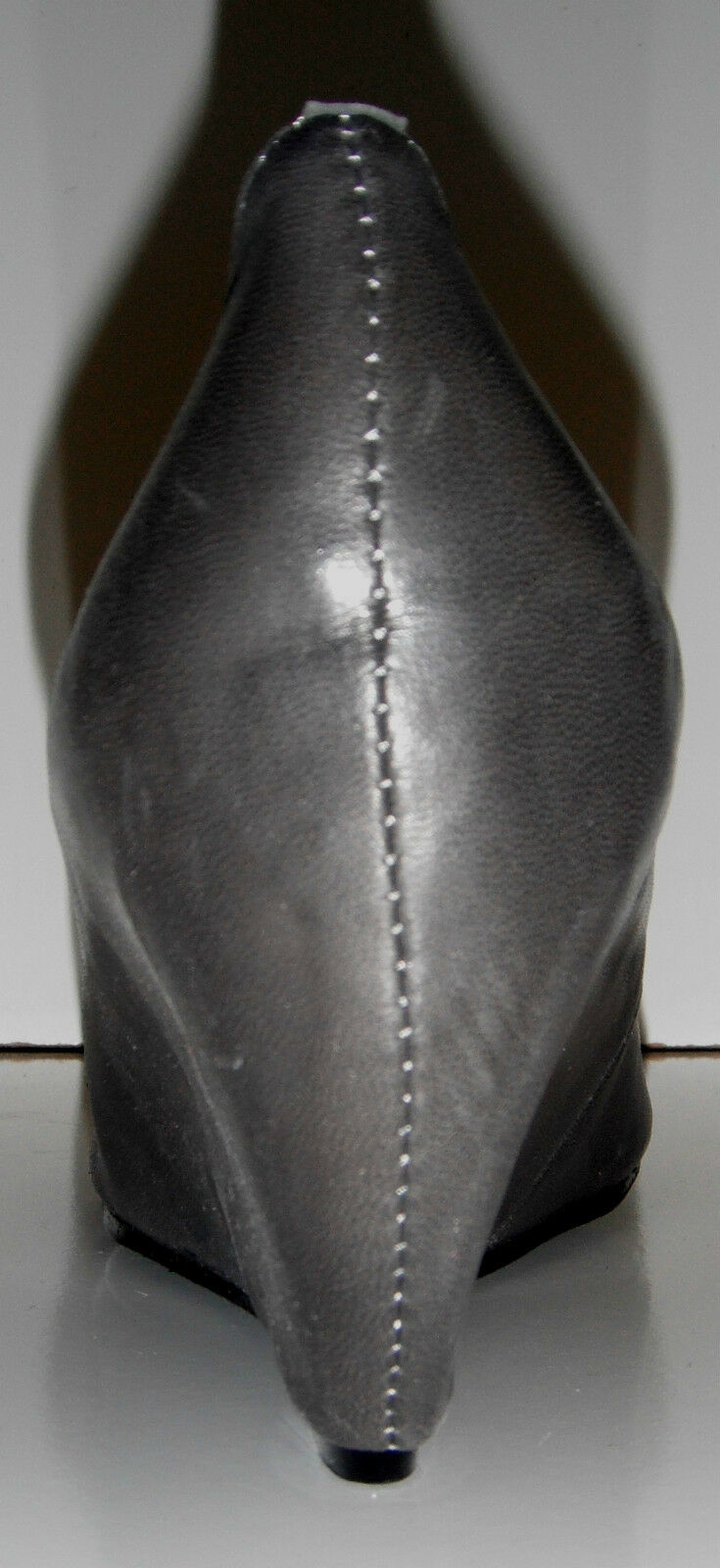 NIB Couleur Pourpre Pelle BRITTE Grey Pelle Pourpre Hidden Platform Shoe sz 9.5M-10M  125 39ff2e
