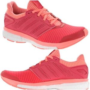 separation shoes c0242 978ac Image is loading adidas-BOOST-Supernova-Glide-8-Shock-Red-Sun-