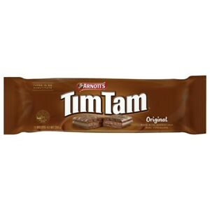 NEW Arnott's Tim Tam Original Cream Filling and Chocolate Coating Biscuits 200g