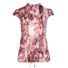 0b3329d4b2320 item 1 TED BAKER cherry blossom floral print high neck ruffle blouse shirt  top 3 12 M -TED BAKER cherry blossom floral print high neck ruffle blouse  shirt ...