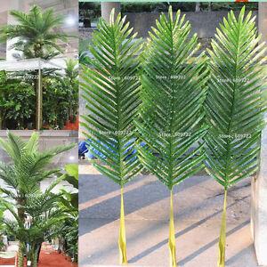 104cm-18pcs-Patio-Sago-Artificial-Palm-Leaf-Plant-Tree-Branch-Frond-Home-Decor