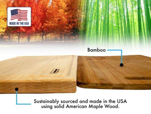 Maple Wood Cutting Boards for KitchenHardwood Kitchen Board Wooden Block