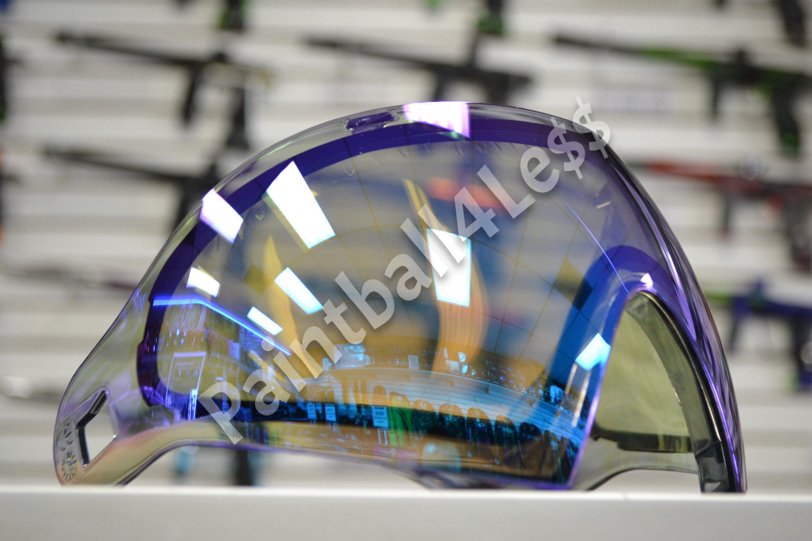 Dye i4 Replacement Thermal Goggle Lens  Dyetanium Mirror blu Ice