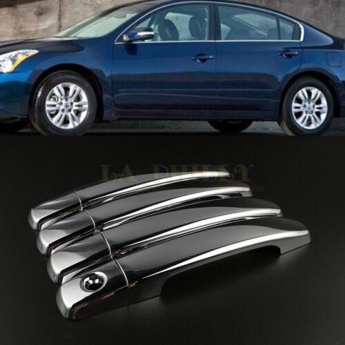 Chrome Door Handle Cover Bezel For Nissan Qashqai Maxima Altima Sentra CT 07-12