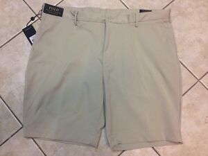 Polo-Ralph-Lauren-Stretch-Classic-Fit-Performance-Short-42-Stone-NWT-79-50