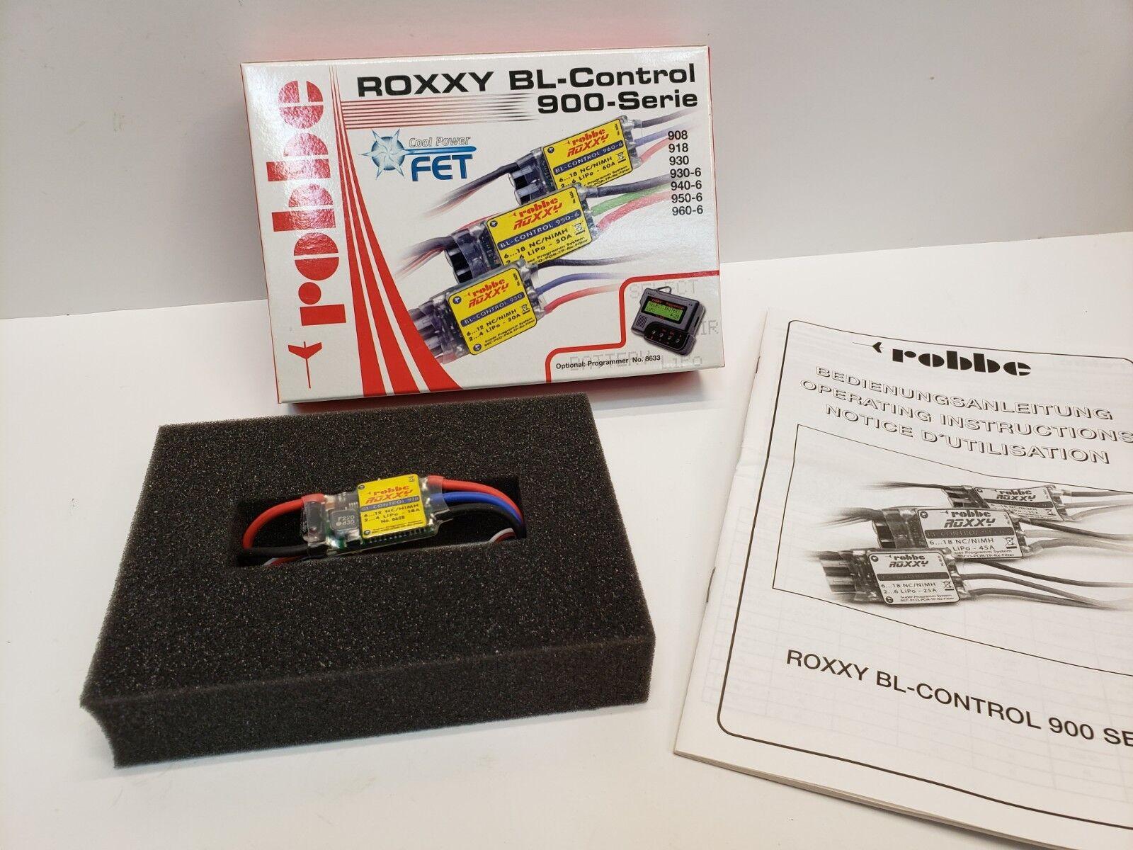 Nuevo Robbe 8618 Roxxy Bruce Lee control 918 radio control modelo barcos Envío Gratuito