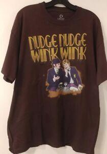 3a638808b05 Monty Python Liquid Blue Nudge Nudge Wink Wink Men s T-Shirt New ...