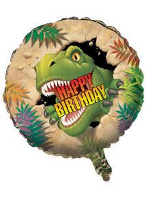Happy Birthday Dinosaur Blast Helium Balloon