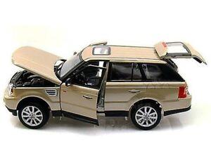 Range Rover Sport Suv Or Burago 12069 1/18 Beige Métal 1:18 Bburago
