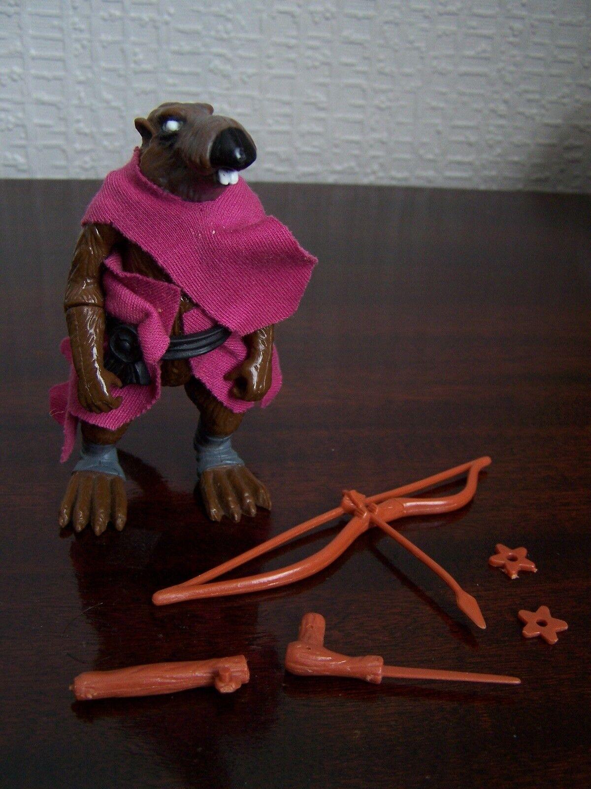 Teenage Mutant Ninja Turtles Toy: Splinter (OOP, Original Series, 1988)