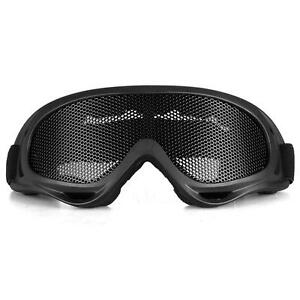 Safety-Protect-Anti-Fog-Airsoft-Metal-Tactical-Mesh-Goggles-Eye-Glasses