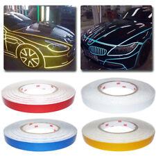 1x Car Truck Body Reflective Stripe Sticker Tape Self Adhesive Decal 1cm Width Fits Srt
