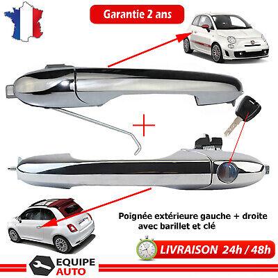 droite Fiat 500 = 735485875 735485874 735451697 Poignée de porte avant gauche