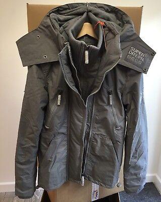 Con cappuccio Superdry giacca a vento Yachter/' ~ 100/% Autentico ~ Taglia Large