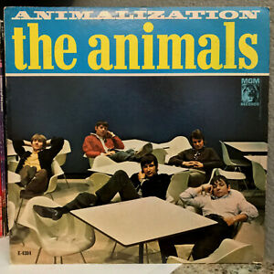THE-ANIMALS-Animalization-1966-MGM-E4384-12-034-Vinyl-Record-LP-VG