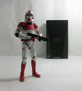 2007 Vintage Star Wars ✧ Shock Trooper ✧ Medicom Rah Sideshow En Parfait état, Dans Sa Boîte-afficher Le Titre D'origine Brillant