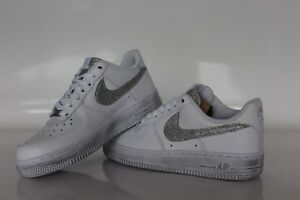 nike air force 1 donna argento