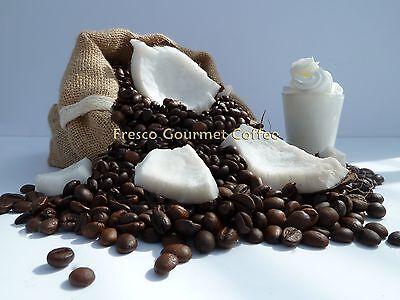Coconut Cream Flavour Coffee Beans 100% Arabica Bean or Ground Coffee Flavoured